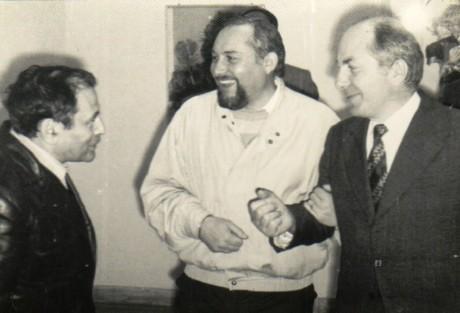 Carol Isaac, Valentin Ciucă şi Constantin Călin